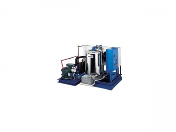 Sea Water Flake Ice Machine for Land