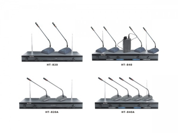 VHF Wireless Meeting Microphone System