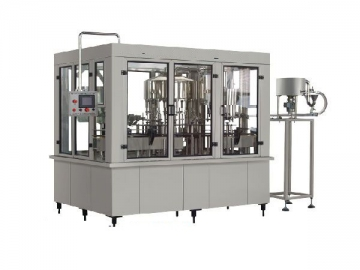 Aerated Beverage Washing-filling-capping 3-in-1 Machine