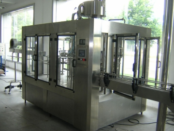 Aerated Beverage Washing-Filling-Capping 3-In-Machine RDG