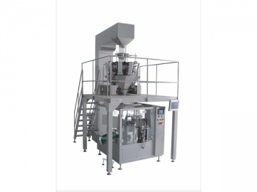 Large Grain Measuring and Packing Production Line