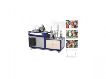 Paper Cup/Bowl Jacket Forming Machine