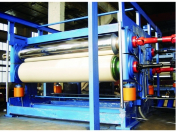 Four Roll Double Sided Calendering Machine