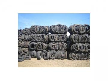 Waste Tyre Baler