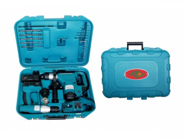 Electric Hammer and Drill Bit Set