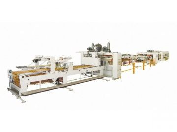 Flexo Printer Slotter, In Line Folder Gluer