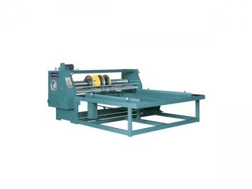 Semi-Auto Slotting Carton Corner Cutting Machine