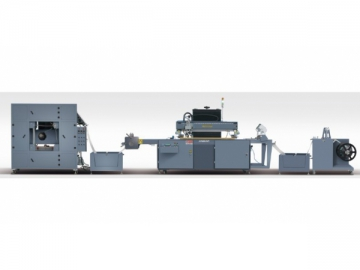 Fully Automatic Roll To Roll Screen Printing Press