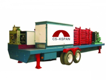CS-1000-750 Qspan Arch Sheet Forming Machine
