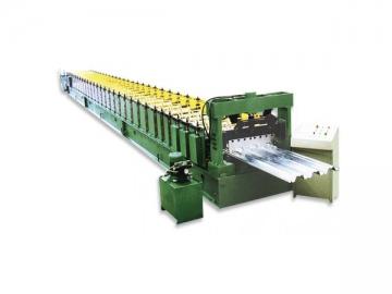Deck Floor Roll Forming Machine
