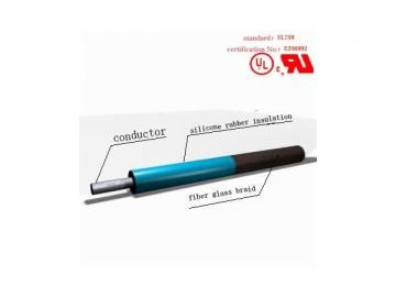 AWM3144 Fiberglass Braided Silicone Rubber Heat Resistant Wire