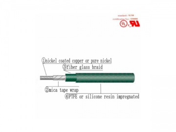 AWM 5108 Heat Resistant Electrical Equipment Lead Wire
