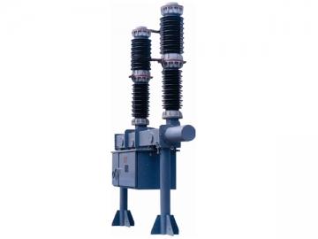 ZW38-63(55)/T1250-1600/25-31.5 Outdoor Two Pole Vacuum Circuit Breaker