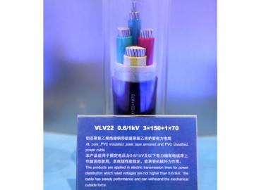 1kV/3kV PVC Insulated (Flame-Retardant) Power Cable