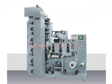 6 Color Flexographic Printing Machine with Three Die Cutting Station