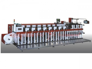 12 Color Multifunction Flexo Printing Machine
