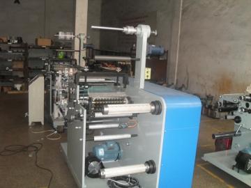 Printing Slitting Machine with Rotary Die Cutting