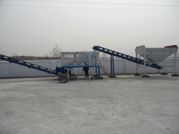 Gravel Washing Machine for Concrete Material Solution