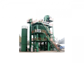 Asphalt Mixing Plant ( Separated Bins for Finished Products )