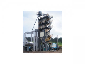 Asphalt Mixing Plant ( Integrated Bins for Finished Product )