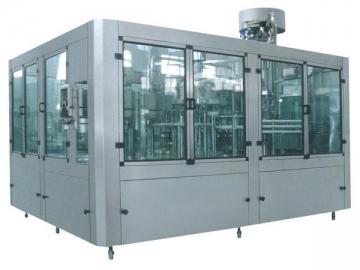 Normal Pressure Hot Filling Machine 3-in-1 Unit