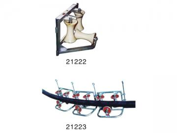 Corner Ground Roller Assembly (Three Roller)