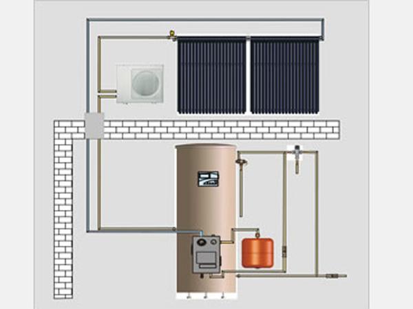 Split Solar Water Heating System HFT-300L HFT-200L