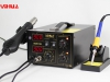 YIHUA-852/852D/852D  Series 2 in 1 Hot Air Rework Station with Soldering Iron