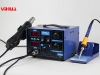 YIHUA-862D  SMD Hot Air Rework Station with Soldering Iron