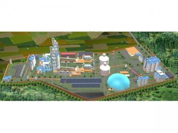 2500 Ton Dry Process Cement Plant