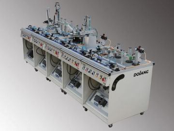 DLMPS-500C Modular Flexible Manufacturing System Trainer