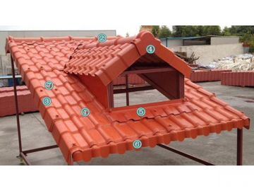 ASA Roof Tile Accessories