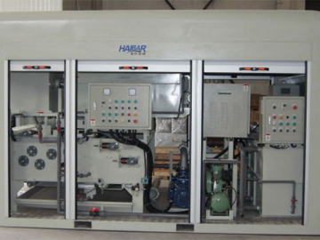HBJ Integrated Belt Filter Press for Sludge Thickening and Dewatering  (Mobile Type)