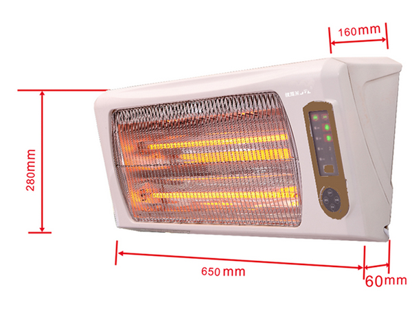 Wall Mounted Infrared Bathroom Heater Manufacturer Cloud