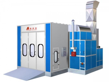 BZB-FB-1200 12m Bus Spray Booth