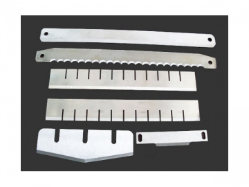 Machine Knives and Blades <small>(Stainless Steel Knives and Blades for Food Processing Machine)</small>