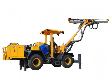 ZD132  Rock Drilling Rig for Tunneling