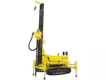 KW10 Water Well Drilling Rig <small>(Truck Mounted Type Optional)</small>