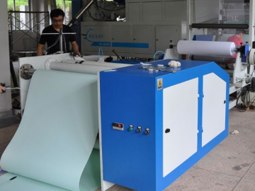 RT-SCI-1000 Extrusion Coating Line for TPU Heel Counter