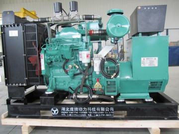 Generator Set with Comprehensive Waste Heat Recovery