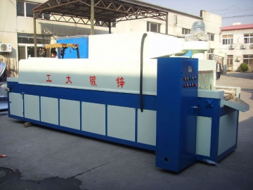Semi-Automatic Drying Oven for Fastener Hot-Dip Galvanizing Lines