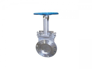 PZ73 Manual Knife Gate Valve <small>(Double Clip Type)</small>
