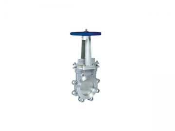 Knife Gate Valve <small>(Rising Stem Type)</small>
