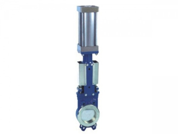 WPZ673 Pneumatic Knife Gate Valve