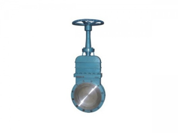 Knife Gate Valve <small>(Non-Rising Stem Type)</small>