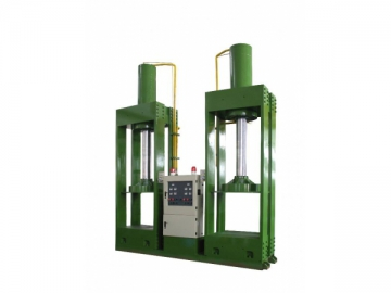 DCJ/2000 Vulcanizing Press for Rubber Tire Gaskets