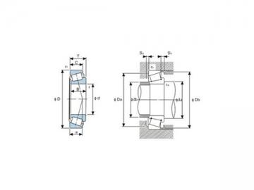 Tapered Roller Bearing, 32300 Series Bearing