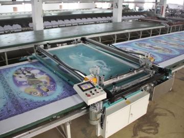 Screen Printing Machine (Flat Bed)