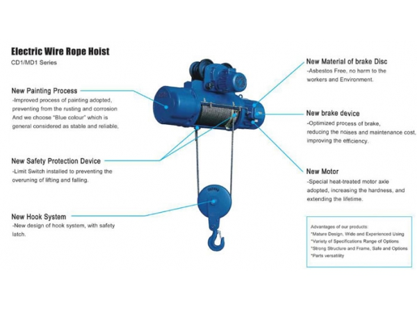 Electric Wire Rope Hoist Manufacturer Cloud Computing At Etw