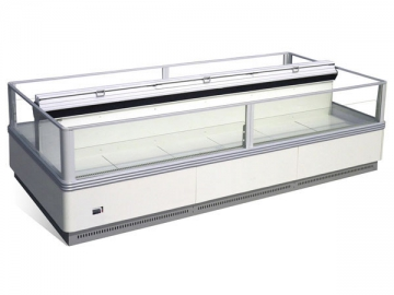 Island Freezer <small>(Narrow, Double Sided)</small>